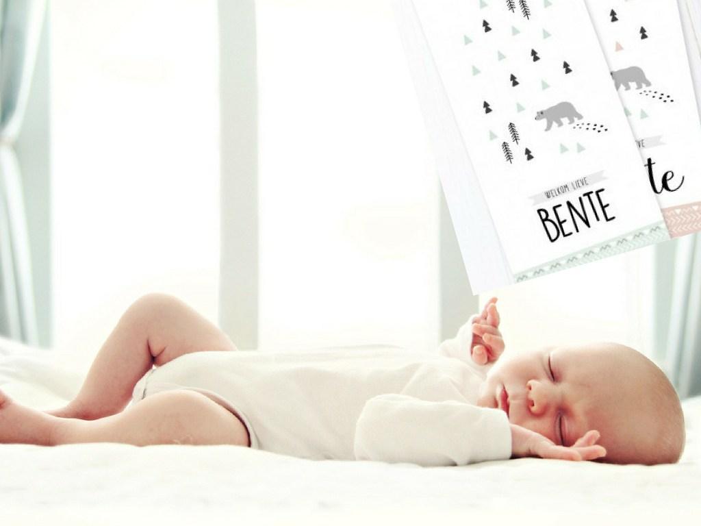 Charlyfine – prachtige geboortekaartjes met een Scandinavisch tintje