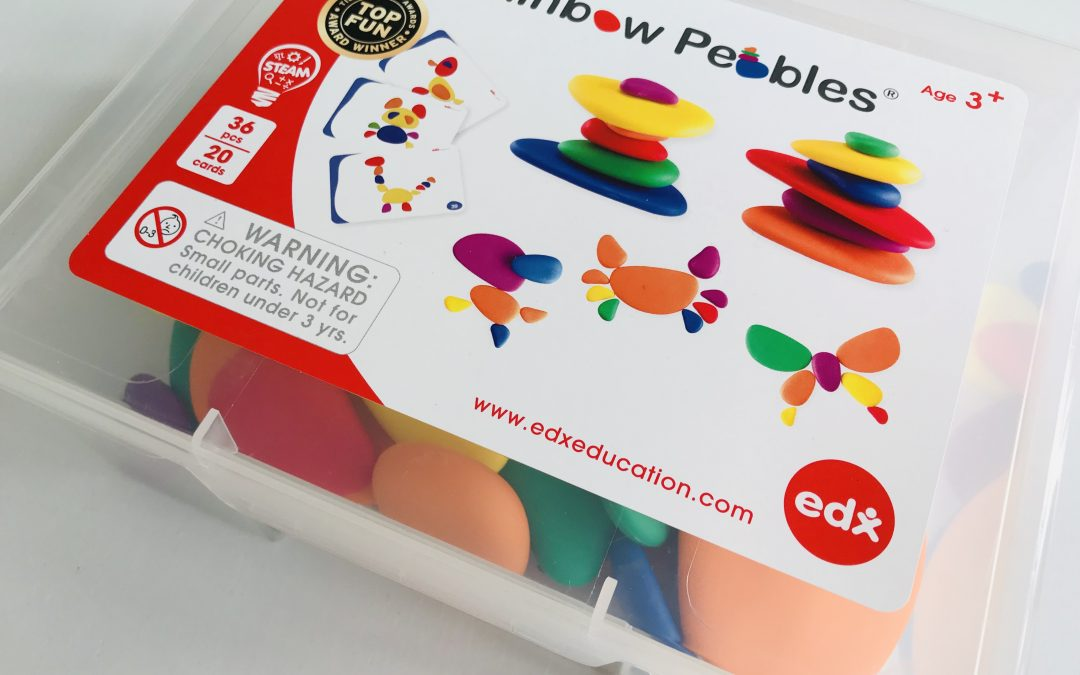 Educadora review Rainbow Pebbles