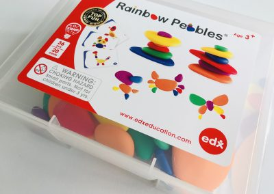 Educadora review Rainbow Pebbles